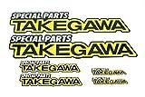SP武川 TAKEGAWA ステッカーセット 08-01-0086