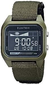 ELECTRIC(エレクトリック) タイドグラフ付き デジタルウォッチ(ナイロンバンド) ED01-T NATO OLIVE(オリーブ) 【国内正規品】 [時計] EW0120020031