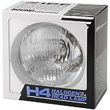 IPF ヘッドライト ハロゲン H4 丸 4灯式 レンズカット  9112
