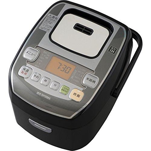 アイリスオーヤマ 炊飯器 圧力IH式 3合 銘柄炊き分け機能付...