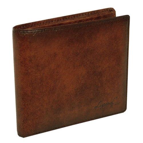 [ラガード] LUGARD G3 財布 二つ折り 革 小銭入れ付 日本製 5205 ブラウン(40)