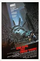 ニューヨークからの脱出-KURT RUSSELL –インポートされた映画の壁ポスター印刷– 30CM X 43CM