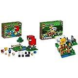 レゴ(LEGO) マインクラフト 巨大羊のウールファーム 21153 &  マインクラフト ニワトリ小屋 21140【セット買い】