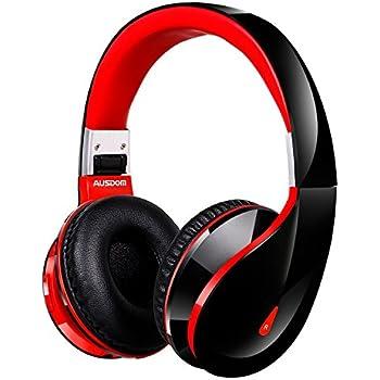 【AUSDOM正規品】AUSDOM Bluetooth 4.0 ワイヤレス ヘッドホン 軽量 1800時間待機 折りたたみ式