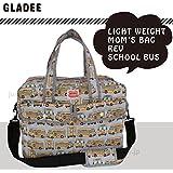 グラディー(GLADEE) ライトウエイトママバッグ スクールバス(マザーズバッグ)