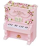 [アンティークシリーズ オルゴール] アップライトピアノ / ピンク  (♪ありがとう) G-6233P
