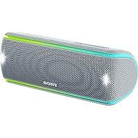 ソニー SONY ワイヤレスポータブルスピーカー SRS-XB31 : 防水・防塵・防錆/Bluetooth/専用スマホアプリ対応 ライティング機能搭載 2018年モデル ホワイト SRS-XB31 W