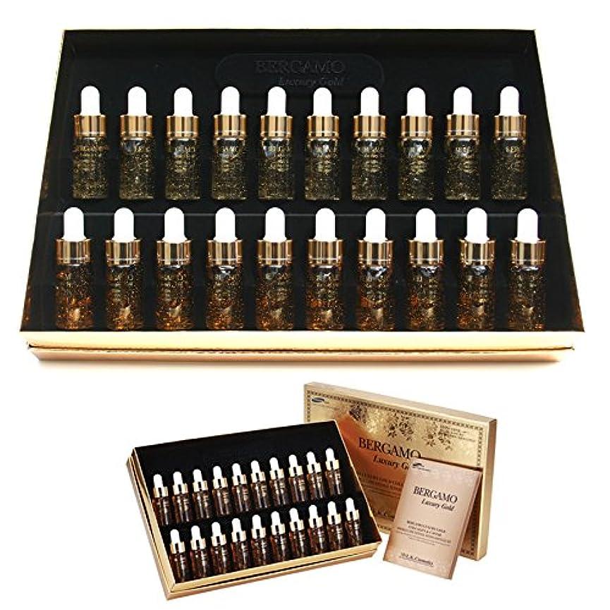 効率的に無限大曖昧な[ベルガモ] Bergamo/ラグジュアリーゴールドコラーゲン&キャビアリンクルケアアンプルセット13ml * 20ea/Luxury Gold Collagen & Caviar Wrinkle Care Repair...