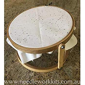 Embroidery Hoop 3 inch Wood Lightweight Portable For Holding Fabric