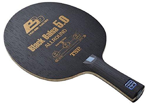 TSP 卓球 ラケット ブラックバルサ5.0 グリップFL 026284