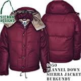 Flannel Down Sierra Jacket 9950: Burgundy