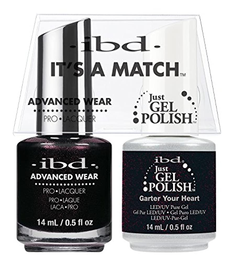 ibd - It's A Match -Duo Pack- Garter Your Heart - 14 mL / 0.5 oz Each