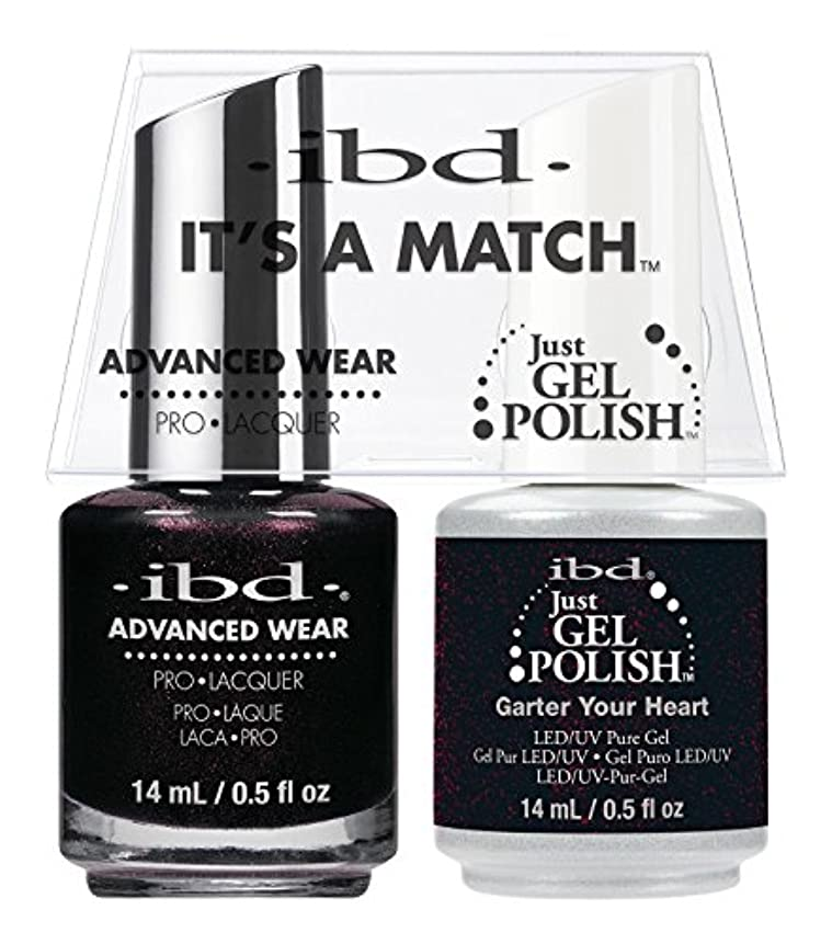 弱い時期尚早説教ibd - It's A Match -Duo Pack- Garter Your Heart - 14 mL / 0.5 oz Each