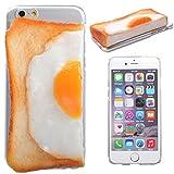 [iPhone 6s/6専用]食品サンプルカバー(パン/左)