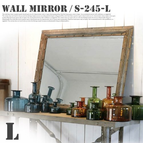 RoomClip商品情報 - Wall mirror RECTANGLE L S245-23L 鏡・ミラー ダルトン