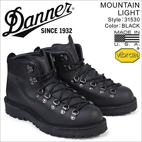 ダナー マウンテンライト ブーツ MOUNTAIN LIGHT 31530 メンズ ブラック US9.0-27.0 (並行輸入品)