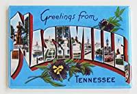 Greetings from Nashville Tennessee冷蔵庫マグネット( 2x 3インチ)