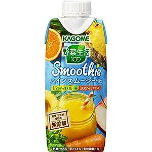 カゴメ 野菜生活100 Smoothie パインスムージーMix 330ml×12本