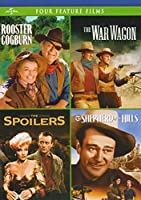 4 Classic John Wayne Westerns (Rooster Cogburn/The War Wagon/The Spoilers (1942) / Shepherd of the Hills)【DVD】 [並行輸入品]