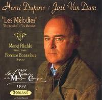 """Henri Duparc / Jose Van Dam """"Les Melodies"""""""