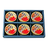マルヤ水産 紅ずわいがに ほぐし身 缶詰 (55g) (6缶ギフト箱入)