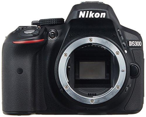 Nikon デジタル一眼レフカメラ D5300 ブラック 2400万画素 3...