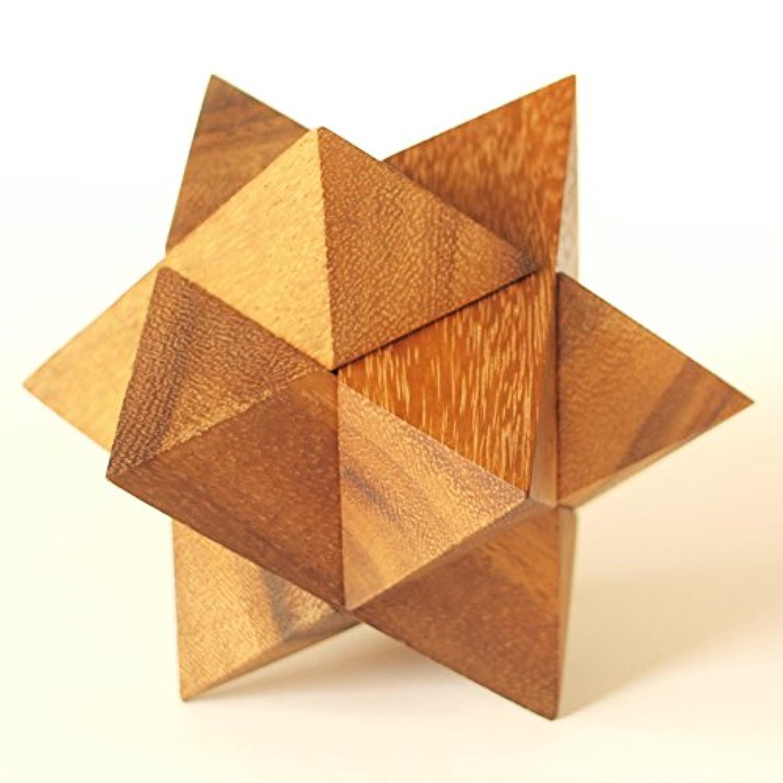 大人の知的玩具 (間伐材から丁寧につくった 木製立体パズル) | ルーベンス