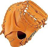 ゼット(ZETT) 少年野球 軟式 キャッチャーミット ゼロワンステージ 右投げ用 オレンジ(5600) BJCB71112
