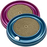 Turbo Cat Scratcher Toy with Catnip, Color May Vary