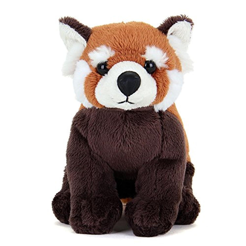 カロラータ レッサーパンダ ぬいぐるみ (検針2度済み) 動物 おすわり シリーズ [やさしい手触り] お人形 9.5cm×17cm×16cm