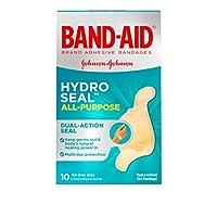 Band-Aid ハイドロシールのすべての目的、10カウント(ワンサイズ)各(2パック)