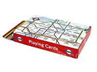 London Underground Map Printed Playing Cards, Transport for London Collectabl...