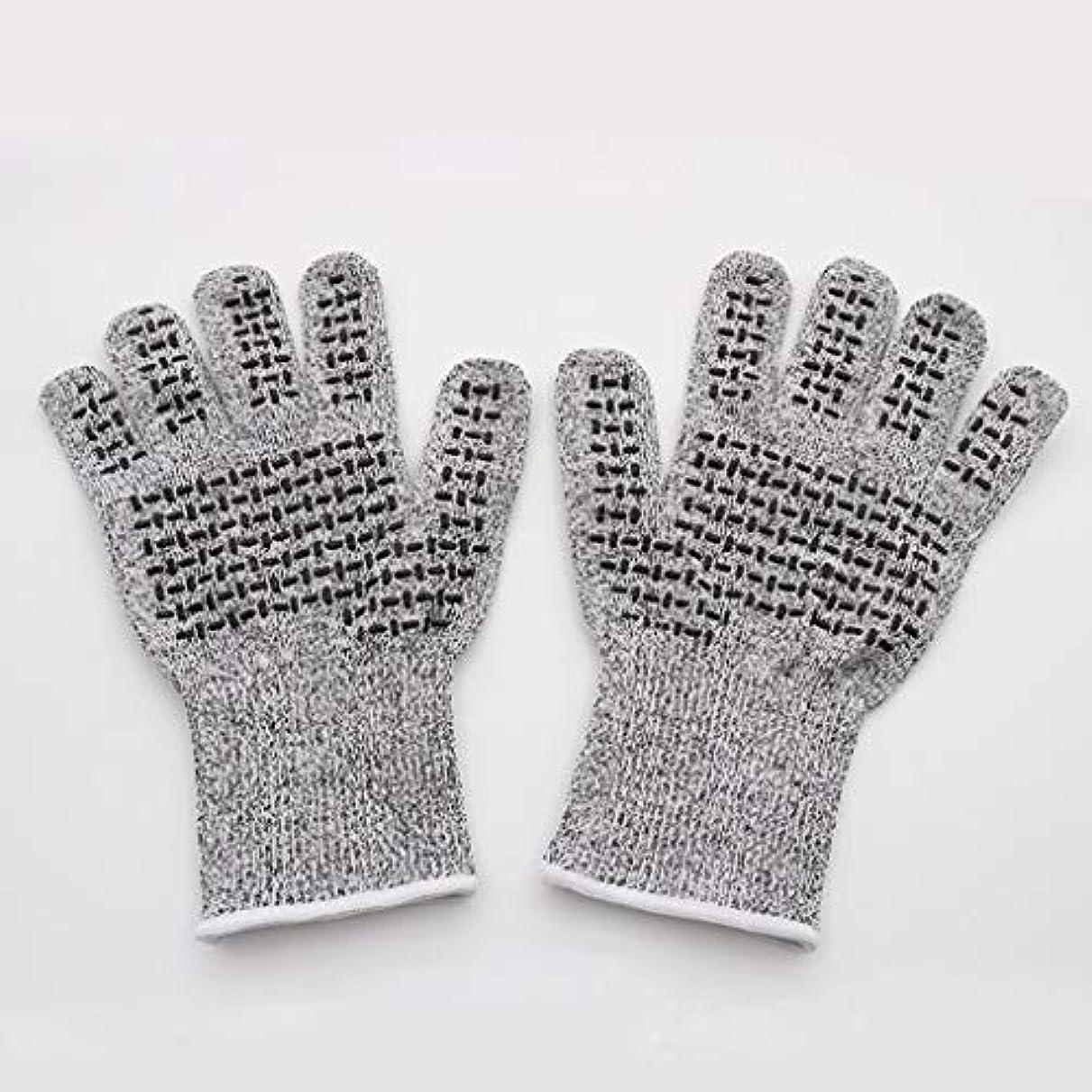 イベントエイリアス打たれたトラックCONTDY 滑り止め保護手袋、抗切断肥厚手袋、商品の移動に適し、修理および耐久性 - 手袋