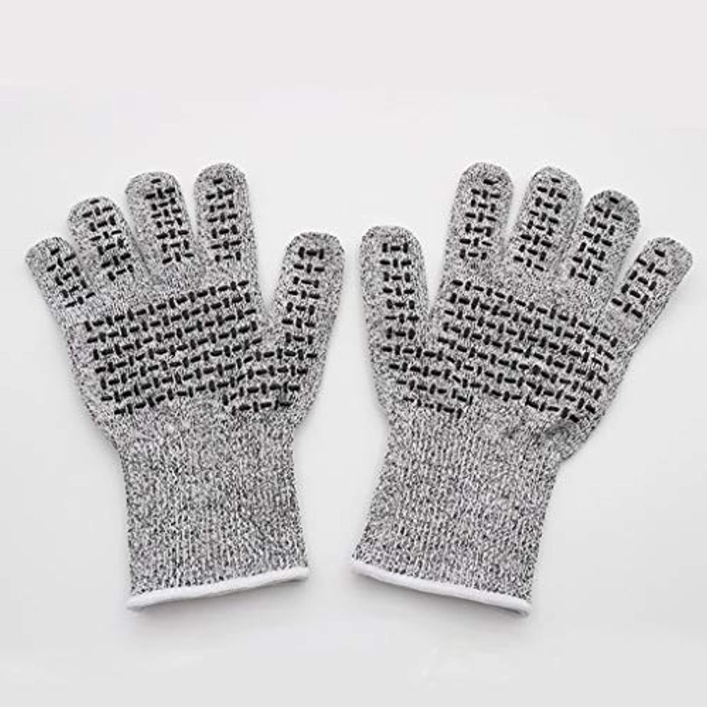 けがをする送金サバントCONTDY 滑り止め保護手袋、抗切断肥厚手袋、商品の移動に適し、修理および耐久性 - 手袋