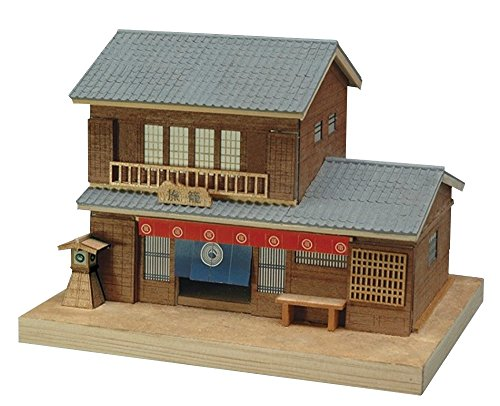 Woody Joe mini building series No.4 hatago wooden models