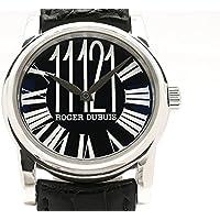 (ロジェ・デュブイ) ROGER DUBUIS 腕時計オマージュ 世界限定28本 K18WG/革 HO40 14 0 9R.671 メンズ中古
