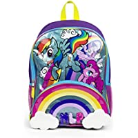 My Little Pony Rainbow Magic Die Cut Cloud Pocket Backpack