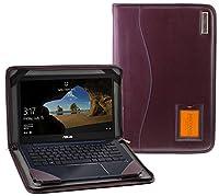 Broonel - Contour Series - パープルレザーケース用 ASUS ZenBook 13 UX331UN