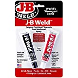 J-B Weld 8265S Cold Weld Steel Reinforced Epoxy with Hardener, 2 oz (1)