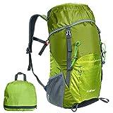 G4Free 超軽量折りたたみ 登山用バッグ ポケッタブルバッグ 40L 防水 男女兼用全7色