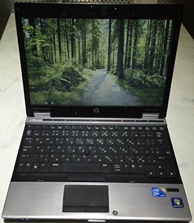 HP English OS Laptop 英語版OS Core i7 2.13Ghz, 2GB, 160GB, 12.1 TFT, Wlan, DVDRW, Windows 7 Pro English, Webcam, Japanese Keyboard, DVDRW, Used Laptop, 中古ノート Model: Elitebook 2540p-160