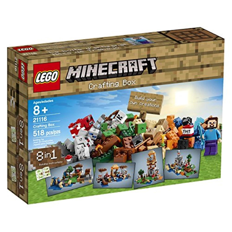 LEGO Minecraft 21116 Crafting Box[並行輸入品]
