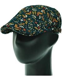 [PLIC N PLOC]EMH13.ペイズリーメンズベレー帽 ハンチング フラットキャップ帽子 鳥打ち帽 春 秋