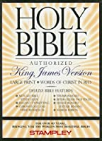 Large Print Bible-KJV-Deluxe