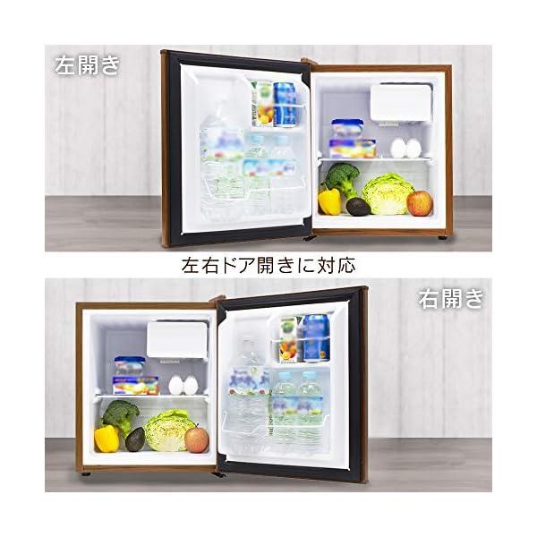 S-cubism 冷蔵庫 49L 1ドア 直令...の紹介画像3