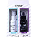 CITY COLOR Collection Primer & Matte Setting Spray Set (並行輸入品)