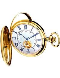 [ロイヤルロンドン]ROYAL LONDON 懐中時計 ポケットウォッチ ダブルハンターケース 手巻き 90051-02 【正規輸入品】