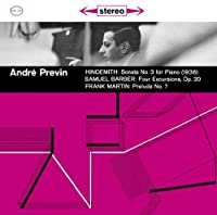 HINDEMITH & BARBER & MARTAN(remaster) by ANDRE PREVIN (2009-10-14)