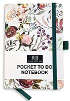 RICCO BELLO ポケットからドゥーリストノートブック 4.25 x 6インチ