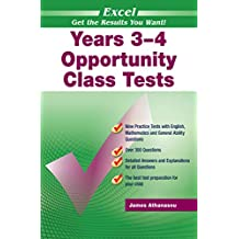 Excel Opportunity Class Tests Years 3-4